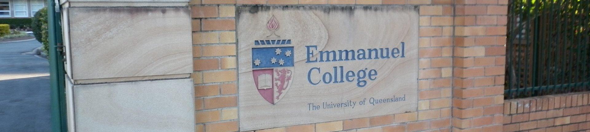 University of Queensland, Emmanuel College
